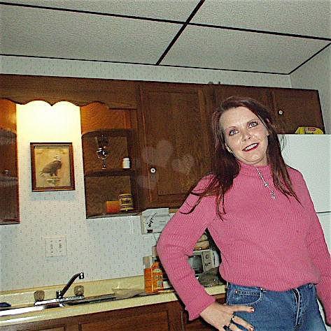 Reife Frau Anfang 40 ist ein ordinäres Dreckstück