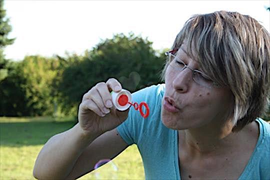 Seifenblase (45) aus dem Kanton Jura