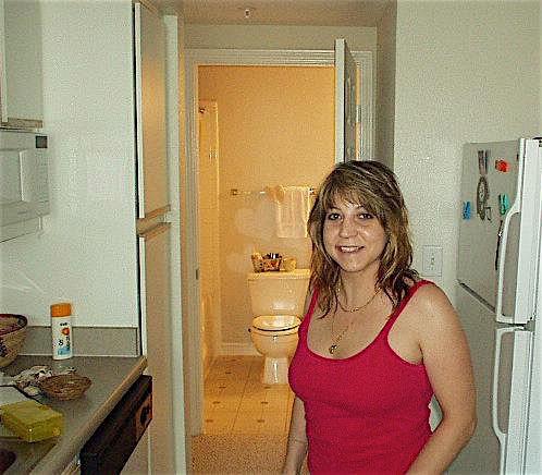 Sex mit einer Hausfrau in der Küche