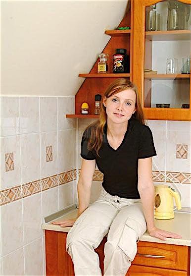 Fick mich von hinten im Stehen in der Küche